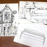 Wybrane rysunki z Muzealnego Archiwum