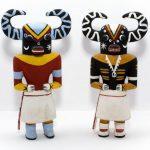 Obrzędowe figurki Kachina – Indianie Hopi i Zuni (Ameryka Północna) - fot. G. Stec