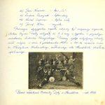 Karta Kroniki Orkiestry Detej w Handzlówce