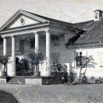 Czombrów w latach I wojny. Fot. Jan Bułhak