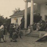 Na filmowym planie Pana Tadeusza w Czombrowie. Sierpień 1928 r.