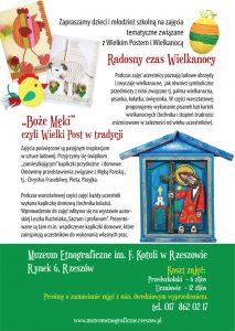Wielki Post i Wielkanoc – oferta edukacyjna