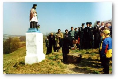 Wielkanocne bębnienie w Wielopolu Skrzyńskim