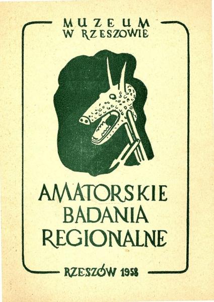"""Okładka książki """"Amatorskie Badania Regionalne"""""""