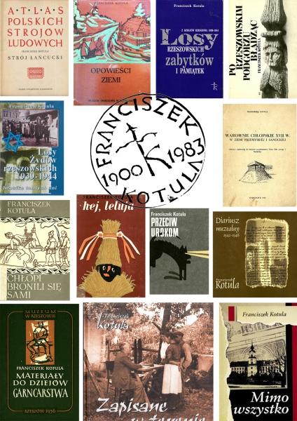 okładki książek F. Kotuli